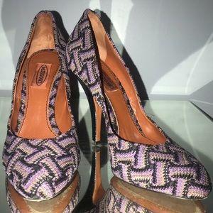 Missoni high heel pumps 38 7 7.5 like new